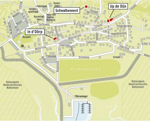 Inselplan Spiekeroog