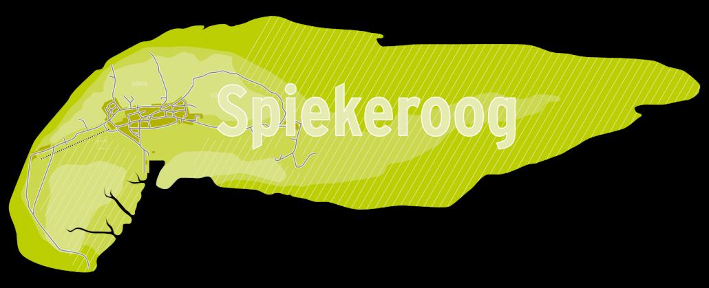Karte Spiekeroog