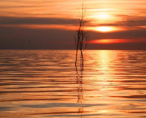 Sonnenuntergang Pricken © Janina Voskuhl
