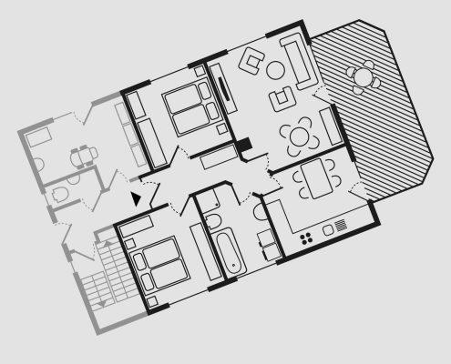 Grundriss Wohnung Schwalbennest
