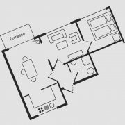 Grundriss Haus Seeschwalbe - Wohnung 10