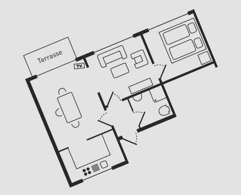 Grundriss Wohnung 10