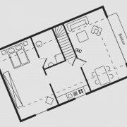 Grundriss Haus Seeschwalbe - Wohnung 3