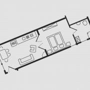 Grundriss Haus Seeschwalbe - Wohnung 4