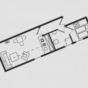 Grundriss Haus Seeschwalbe - Wohnung 5