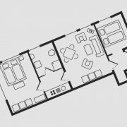 Grundriss Haus Seeschwalbe - Wohnung 7