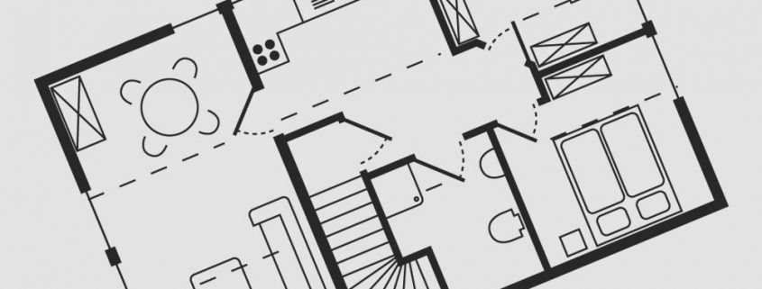 Grundriss Wohnung 8